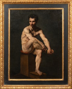 Portrait Of A Nude Male, 18th Century