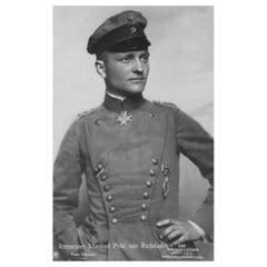 Baron Von Richthofen Authentic Antique Strand of Hair, 20th Century