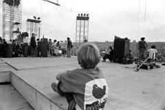 Woodstock 1969, Child Backstage During Santana