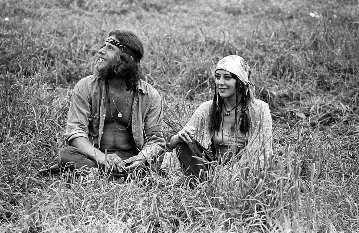Woodstock 1969, Couple Resting