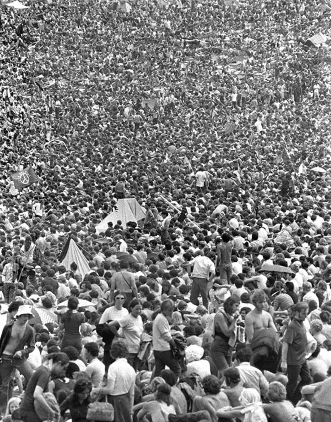 Woodstock 1969, Crowd View