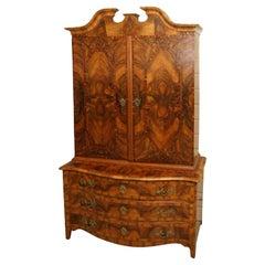 Baroque 18th Century Bookcase