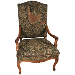 Baroque Armchair, South Germany, 19th Century