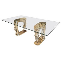 Baroque Bronze Coffee Table