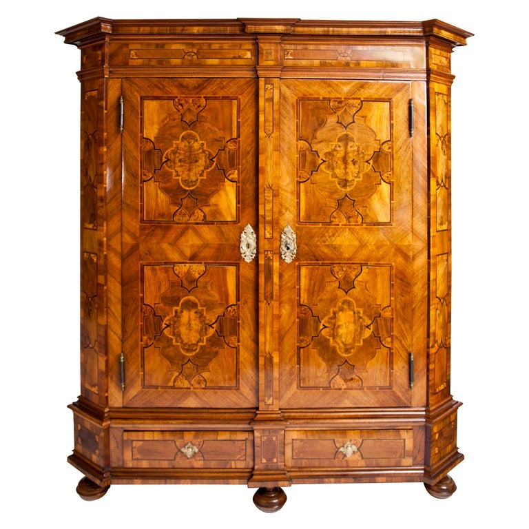 Baroque Cabinet, 18th Century For Sale