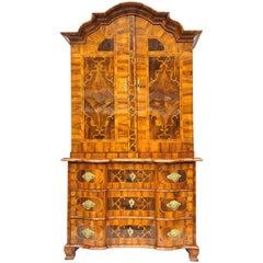 Baroque Cabinet or Dresser, Würzburg, Bavaria, Germany, 1730s
