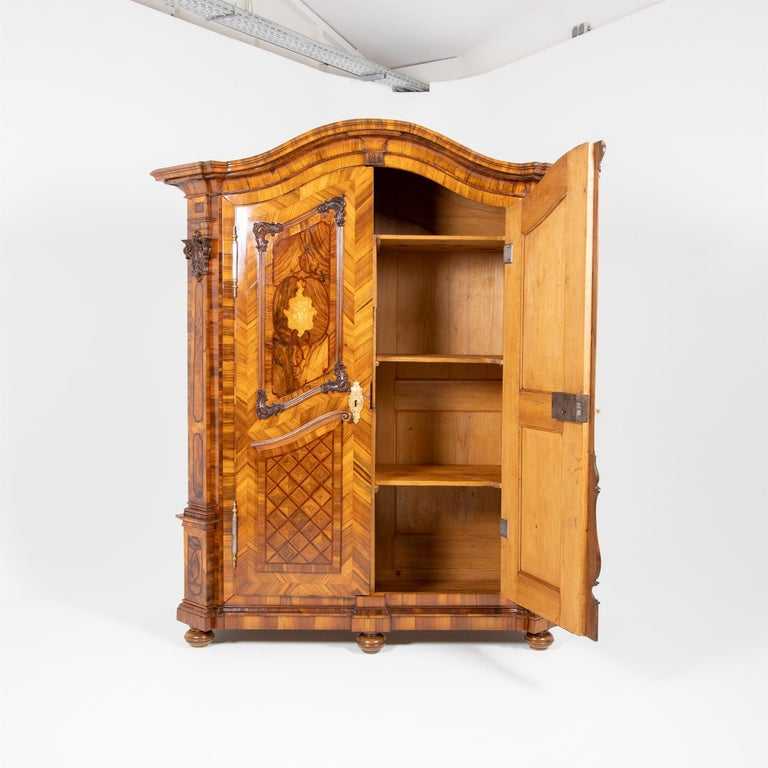 Baroque Cabinet, Munich, Dated 1781 For Sale 5