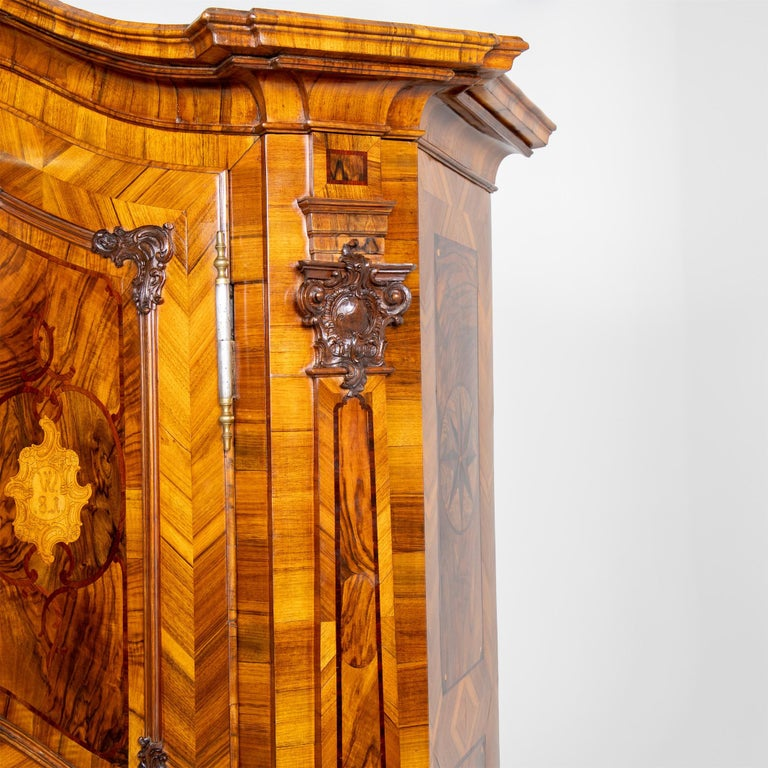 Baroque Cabinet, Munich, Dated 1781 For Sale 1