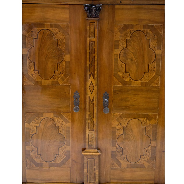 Baroque Cabinet, Salzburg Dated 1727 In Good Condition For Sale In Greding, DE