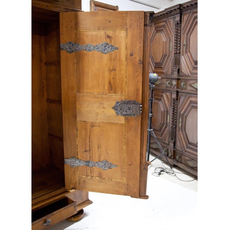 Baroque Cabinet, Salzburg Dated 1727 For Sale 1