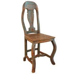 Baroque Chair, Origin, Norway, circa 1740