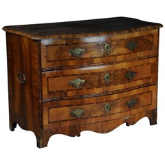 Baroque Chest of Drawers in Walnut, German, circa 1740
