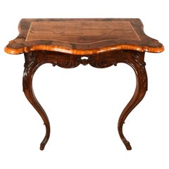 Baroque Console Table, Germany 1750, Walnut