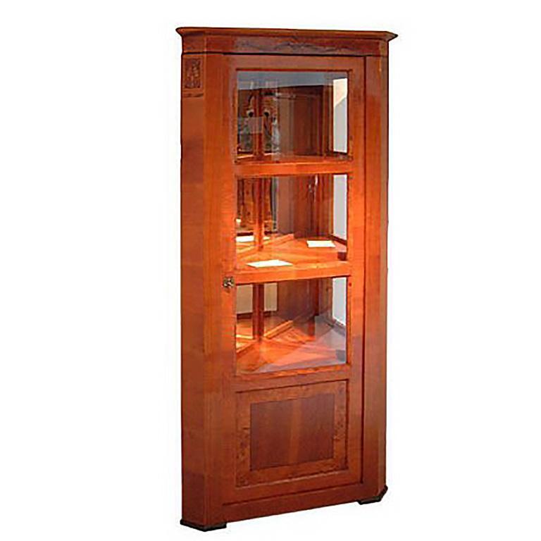Baroque Corner Display Cabinets For
