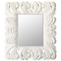 Baroque Framed Mirror in the Manner of Dorothy Draper