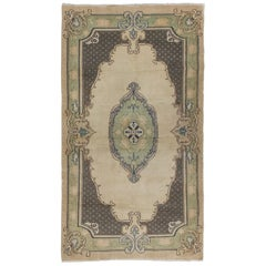 Baroque Handmade Rug in Soft Colors