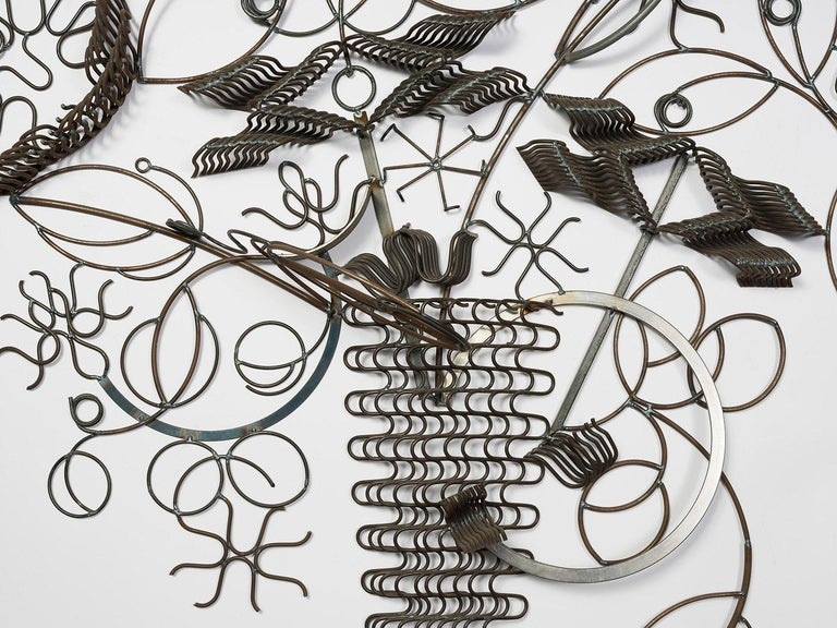 Welded spring and mild steel by
