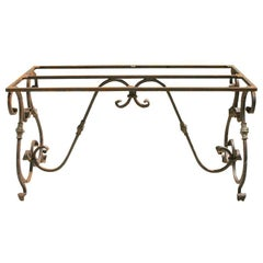 Baroque Metal Garden Dinging Table Base