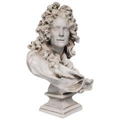 Baroque Plaster Bust