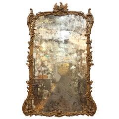Baroque Revival Style Monumental Mirror