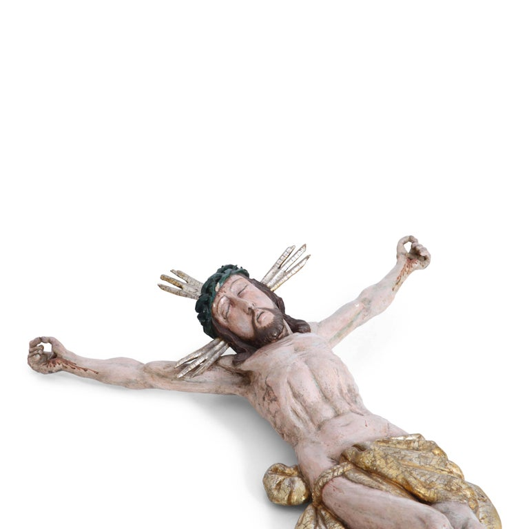 Baroque Sculpture of Jesus Christ, Germany, 18th Century In Good Condition For Sale In Greding, DE