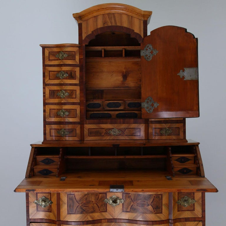 Baroque Secretaire, Central Germany 18th Century  For Sale 5