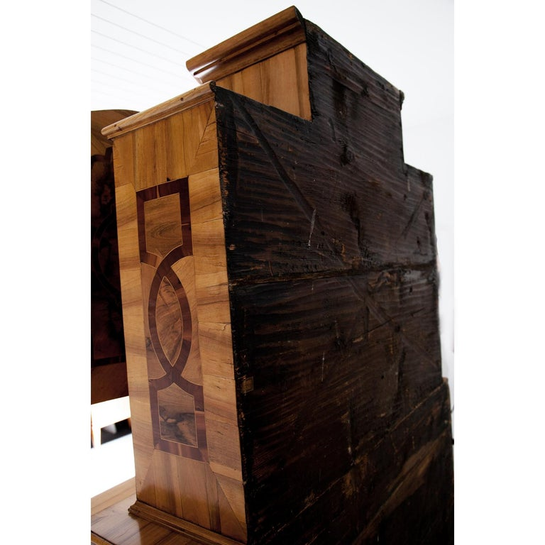 Baroque Secretaire, Central Germany 18th Century  For Sale 6