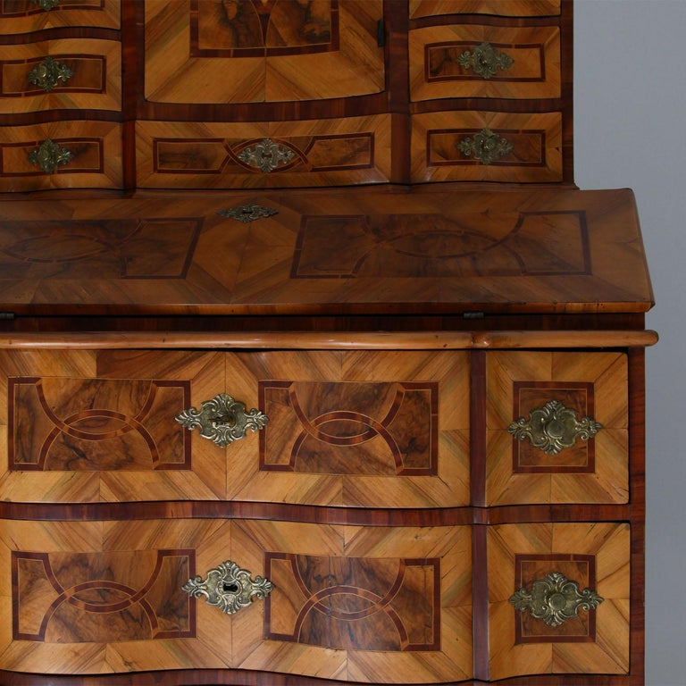 Baroque Secretaire, Central Germany 18th Century  For Sale 7