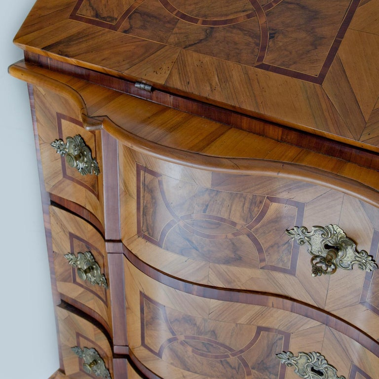 Baroque Secretaire, Central Germany 18th Century  For Sale 1