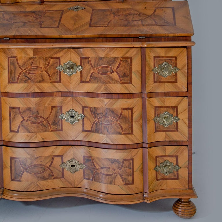 Baroque Secretaire, Central Germany 18th Century  For Sale 2
