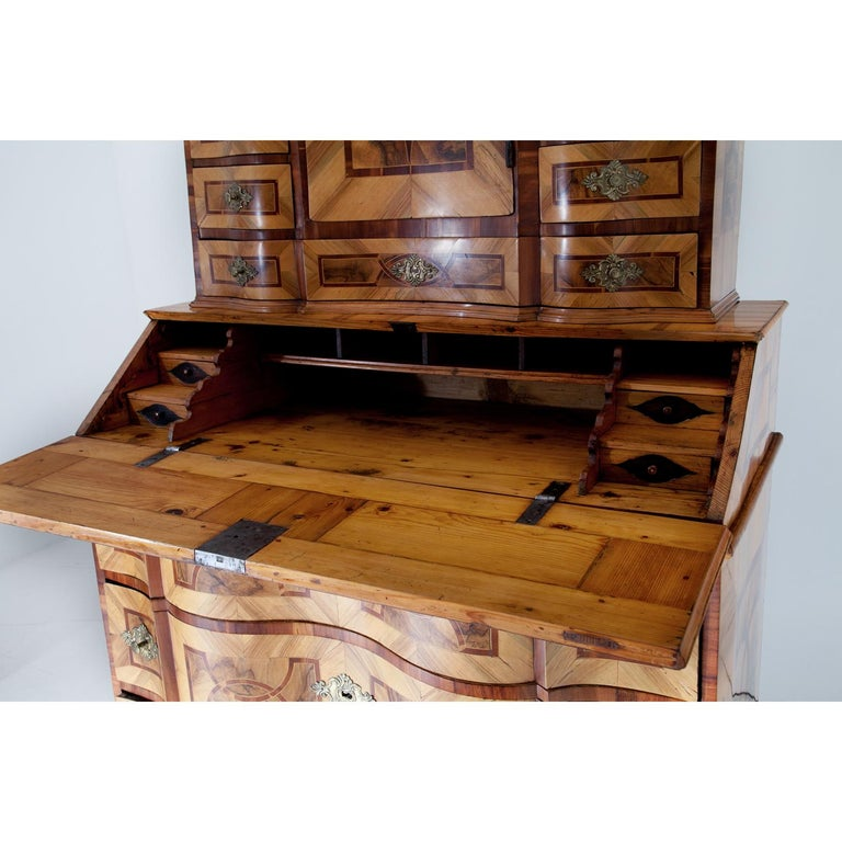 Baroque Secretaire, Central Germany 18th Century  For Sale 4
