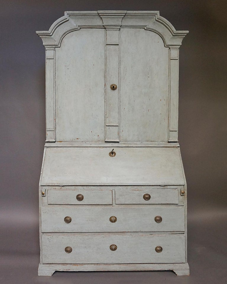 19th Century Baroque Secretary with Library