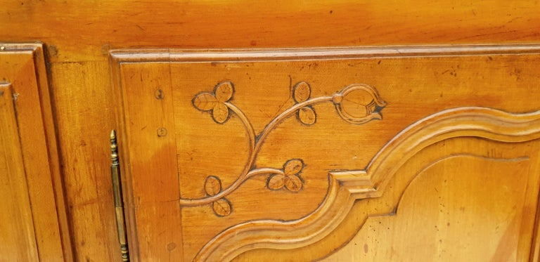 French Baroque Sideboard, Provence, France, 1780s For Sale