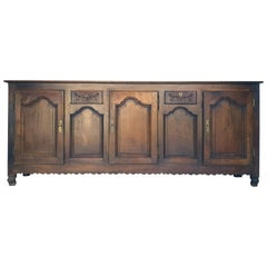 Baroque Sideboard, Provence, France, 1780s
