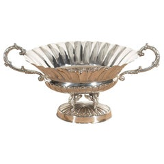 Baroque Silver Centerpiece