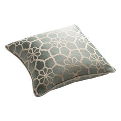 Baroque Stuart Scott Jacquard Mint Green Cushion