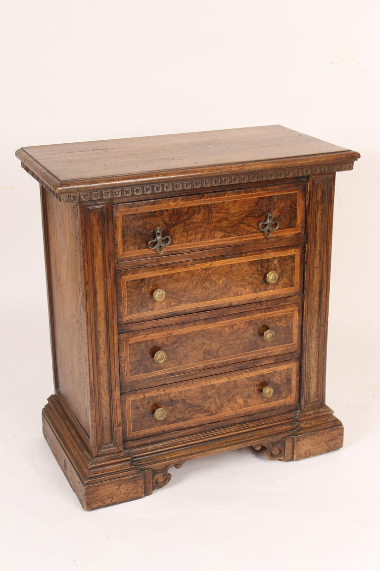 European Baroque Style Chest of Drawers For Sale