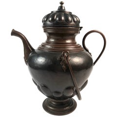 Baroque Style Copper Kettle