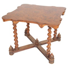 Baroque Style Games Table