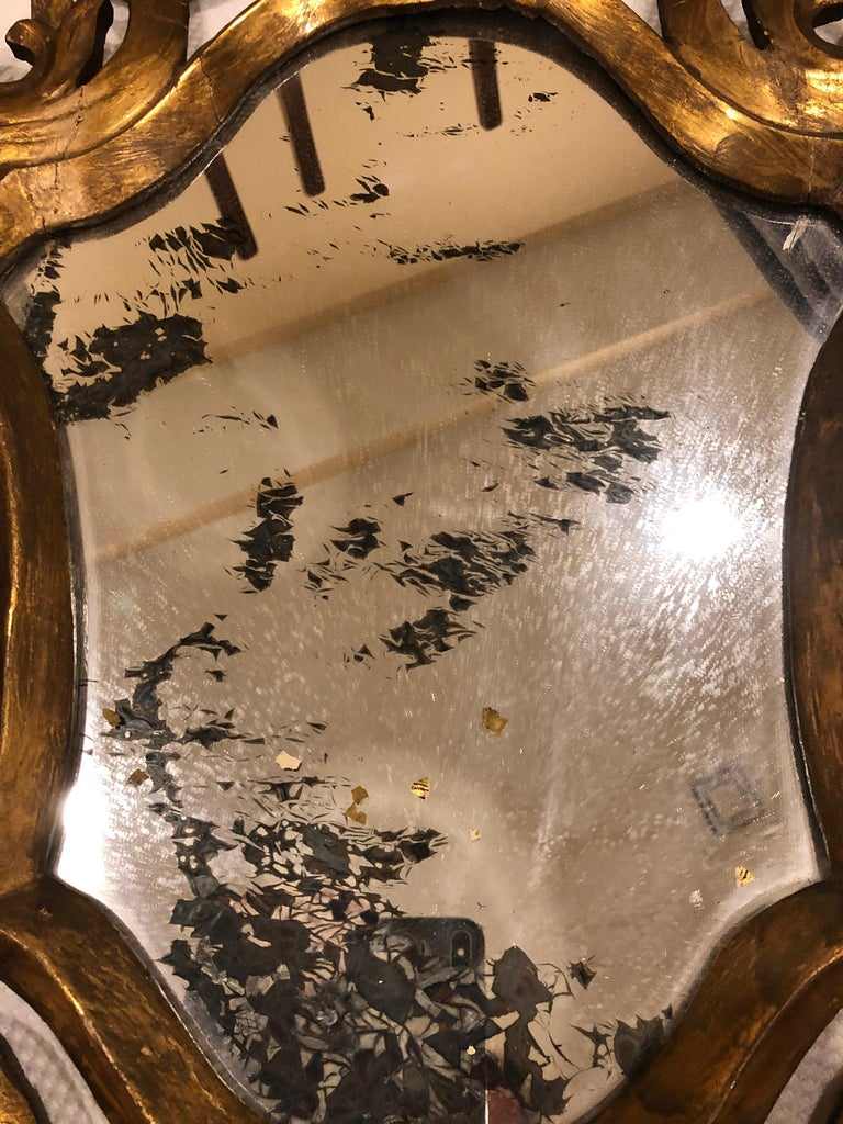 French Baroque Style Mirror, France, 19th Century For Sale