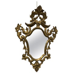 Baroque Style Mirror, France, 19th Century