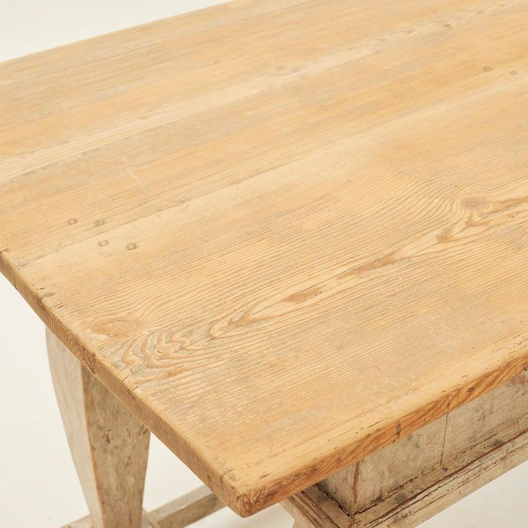 Danish Baroque Table, Sweden, Late 18th Century For Sale