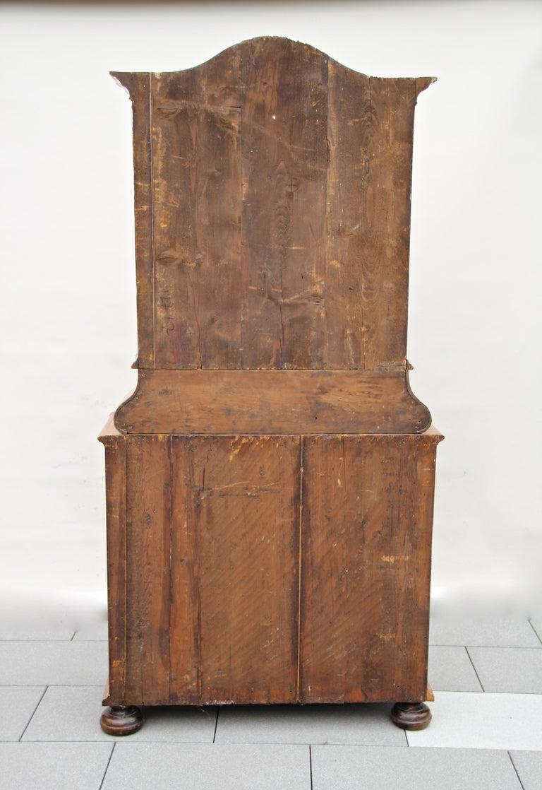 Baroque Vitrine Cabinet, Austria, circa 1760 For Sale 9