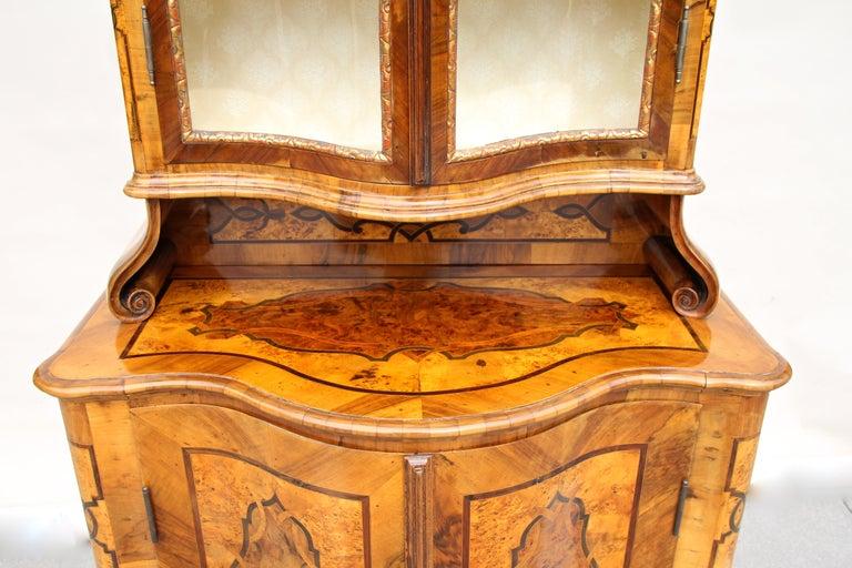 Baroque Vitrine Cabinet, Austria, circa 1760 In Good Condition For Sale In Linz , AT
