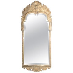 Baroque Wall Mirror, Gold, 19th Century