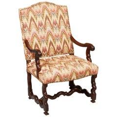 Baroque Walnut Armchair