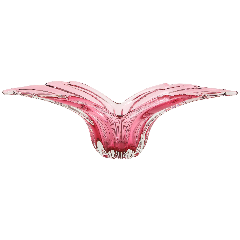 Barovier Blush Pink Murano Glass Vessel