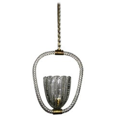 Barovier chandelier