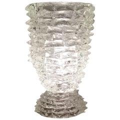 "Barovier Et Toso Table Lamp Murano Glass 1950, ""Rostrato"", Italy"