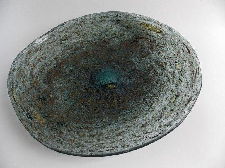 Barovier Spuma Di Mare Platter For Sale 4